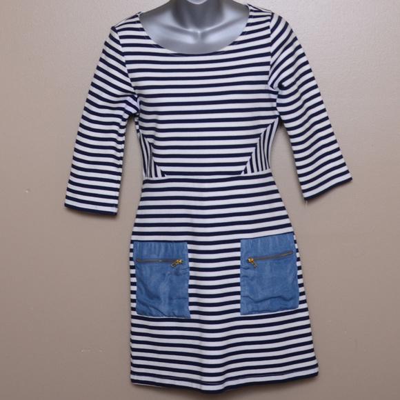 95e389d4d38c4 Anthropologie Dresses & Skirts - Tabitha Anthropologie 4 Striped Dress  (dd76)